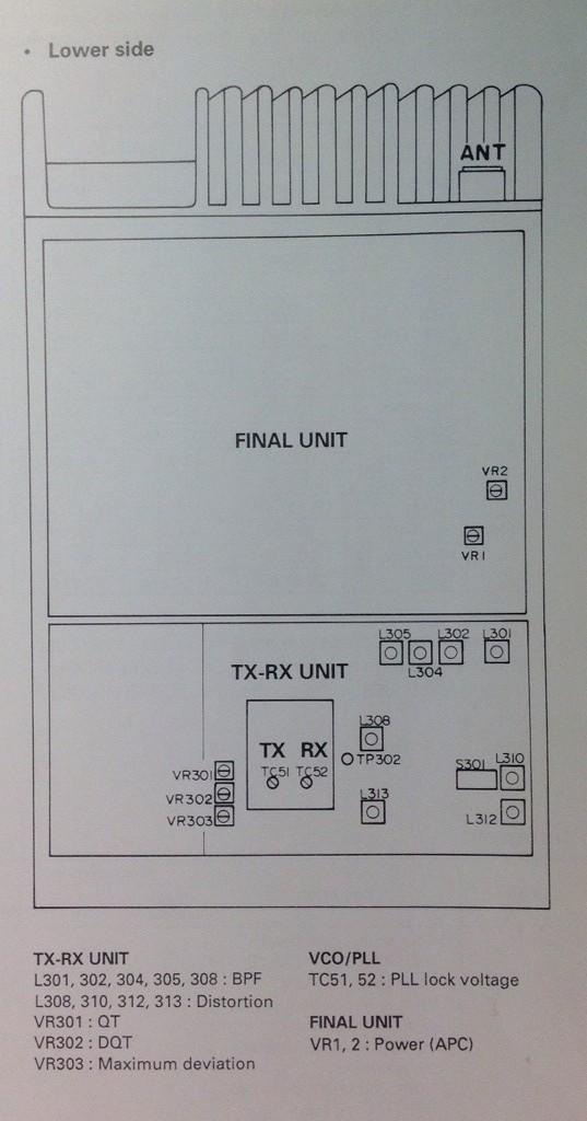 conversion to 6m tuning the tk 630 project rh 630 zzruss com Kenwood Tk 8180 Kenwood Tk 8180